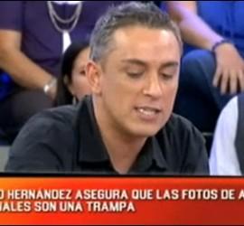 Captura de 'Sálvame' (Telecinco) durante una intervención de Kiko Hernández.