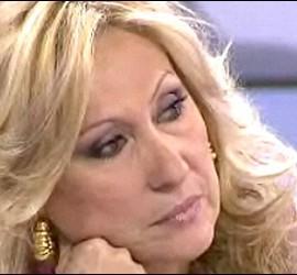 Captura de Rosa Benito durante una intervención en 'Sálvame'.
