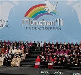 Clausura del encuentro por la paz de San Egidio en Munich