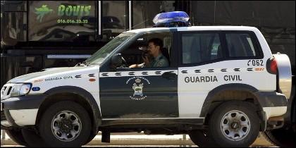 Imagen de una patrulla de la Guardia Civil.