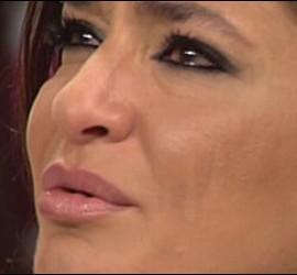 Captura de 'Acorralados' durante una intervención de Aída Nízar.
