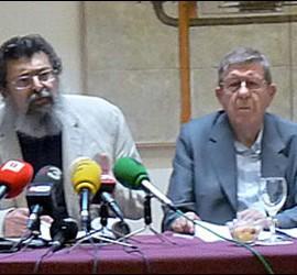 Francisco Caja en la presentación del estucio de Convivencia Cívica Catalana.