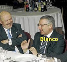 Dorribo y Blanco en el cocido de Lugo.