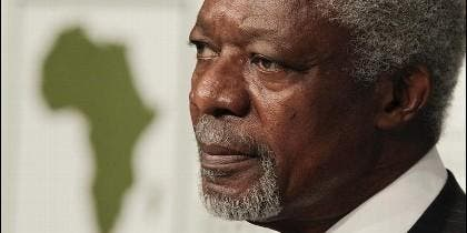 El exsecretario general de la ONU Kofi Annan.
