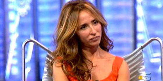 Captura de María Patiño durante su intervención en 'La Noria'.