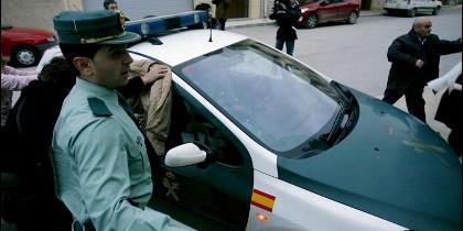 En la imagen, un coche de la Guardia Civil.