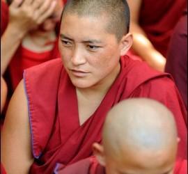 Monjas tibetanas budistas