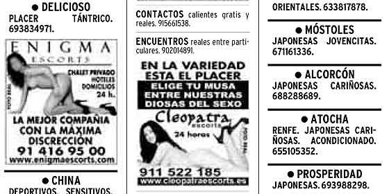 anuncios de prostitutas dias con prostitutas