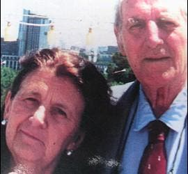 Clelia luro y Jeronimo Podestá