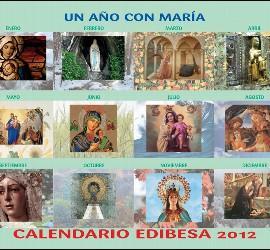 Calendario 2012 de Edibesa