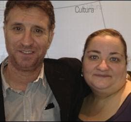 Fernando Burgos y Carmen Colino.