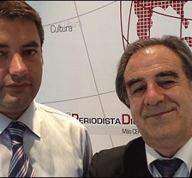 Julio Somoano y Graciano Palomo.
