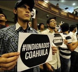 Indignados de Coahuila, México
