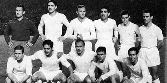 Real Madrid con Puskas y Di Stéfano
