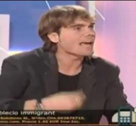Captura de Carlos Navarro 'El Yoyas' durante la tertulia 'Catalunya Opina' (Canal Català).