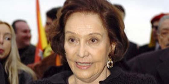 María del Carmen Franco y Polo, duquesa de Franco.