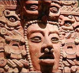Un dios maya.