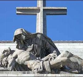 La Virgen de La Piedad del Valle de los Caídos.
