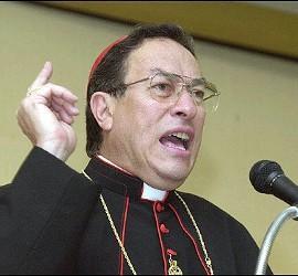 Cardenal Maradiaga, presidente de Cáritas Internacional