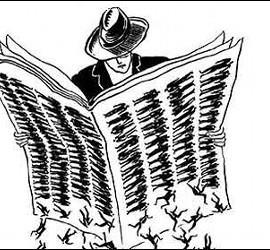 Prensa, periódicos y periodistas.