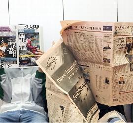 Prensa, periódico, periodista, internet y medios de comunicación.