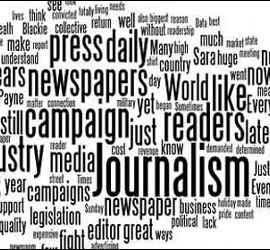 Prensa, periódico, periodista y medios de comunicación.