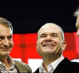 Zapatero, Chaves y Griñán.