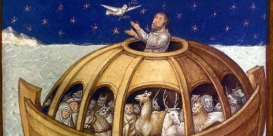 Resultado de imagen de noé arca arte