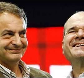 Zapatero con Chaves.