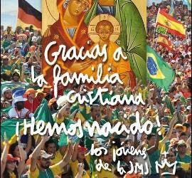 Cartel de la Misa por la Familia Cristiana 2011