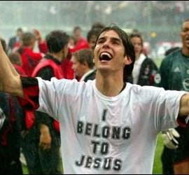 Kaká y su I belong to Jesus