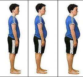 Gordos, obesos, gordura y peso.