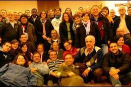 Consiliarios y acompañantes de la JOC