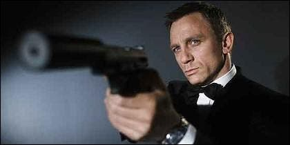 Daniel Craig en su papel de James Bond, Agente 007.