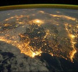 Iberia vista desde el Universo.