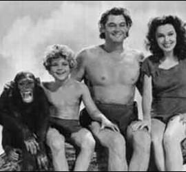 Chita, Boy, Tarzán y Jane.