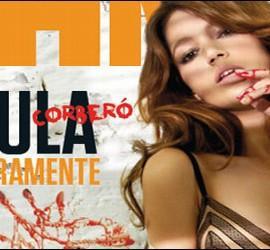 Úrsula Corberó en la portada de la revista FHM.