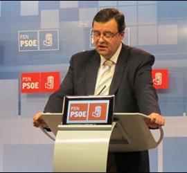 Juan José Lizarbe, portavoz del PSN en el Parlamento de Navarra.