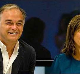 Esteban González Pons con Ana Mato.