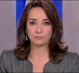 Captura de Pepa Bueno en los informativos de La 1 de TVE.