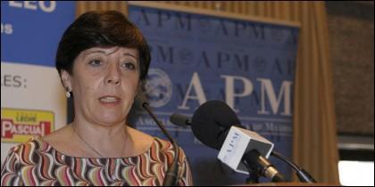 Carmen del Riego, presidenta de la APM.