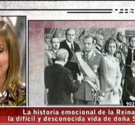 Pilar Eyre en 'El programa de Ana Rosa', presentando 'La soledad de la Reina'.