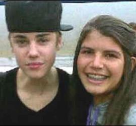 Justin Bieber con Rosiné Chávez.