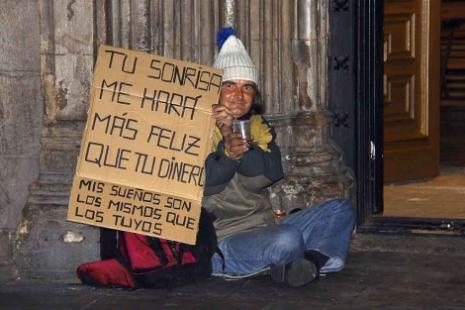 datos de la pobreza en espana: