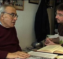 Gregorio Peces Barba y Jordi Évole.