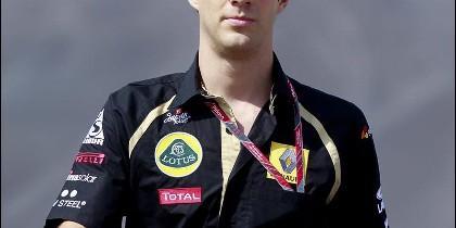 Imagen de archivo tomada el 27 de octubre de 2011 del piloto brasileño Bruno Senna en Nueva Deli, India.