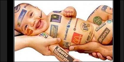 Bebé, niños y publicidad.