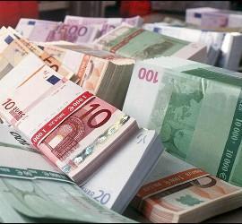 Dinero, billetes, euro.