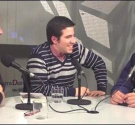 Javier Lorenzo, Lorenzo Rodríguez y Jorge Díaz.