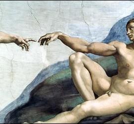 La creación en la Sixtina del Vaticano